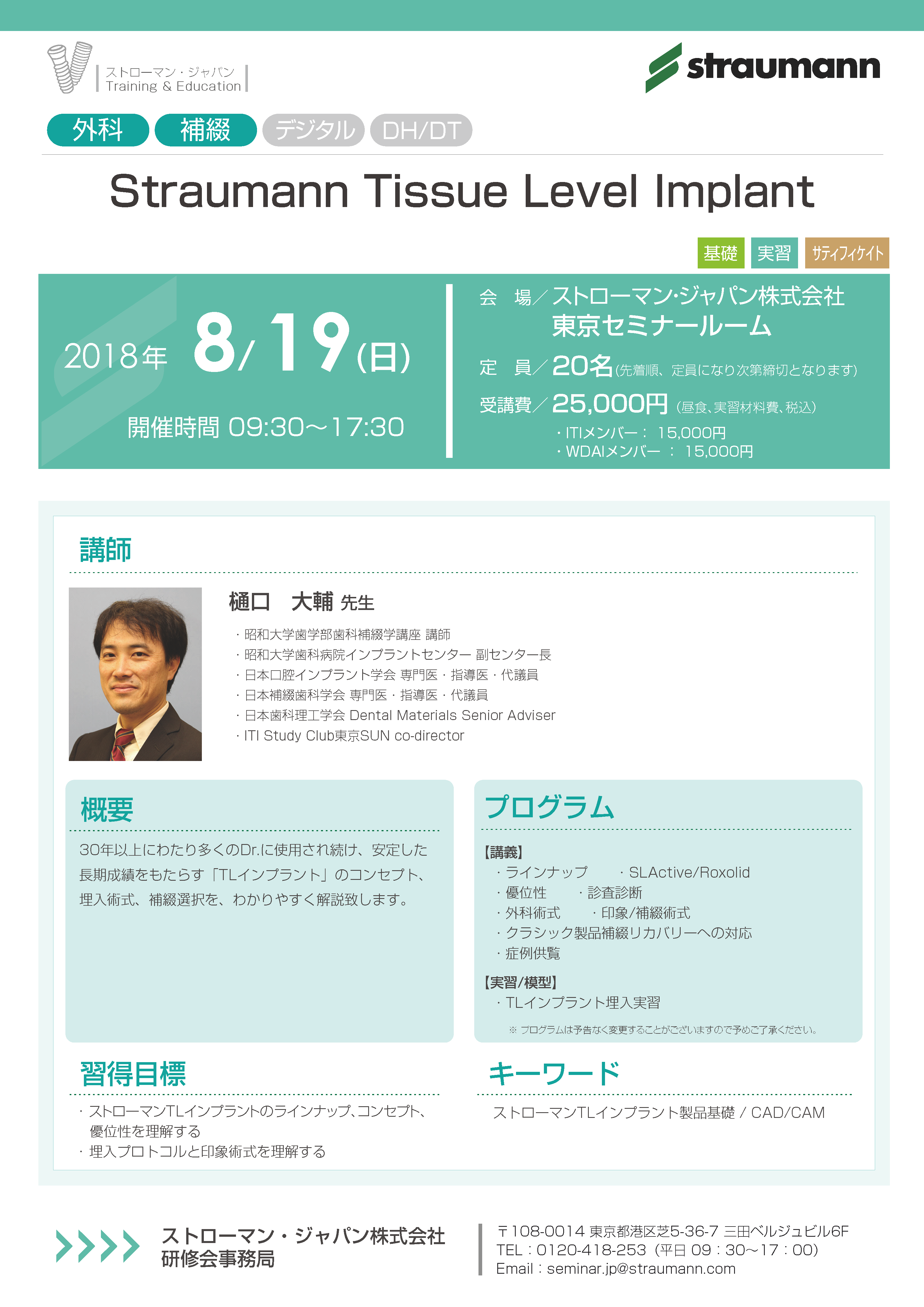 Straumann Tissue Level Implant