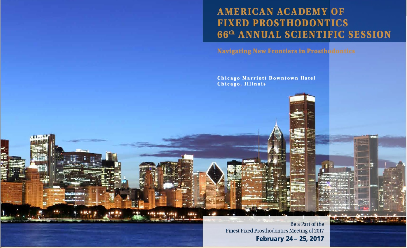 American Academy of Fixed Prosthodontics 66th Annual Scientific Session